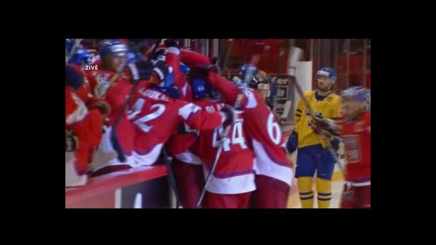 Video Vítězný gól proti Švédsku