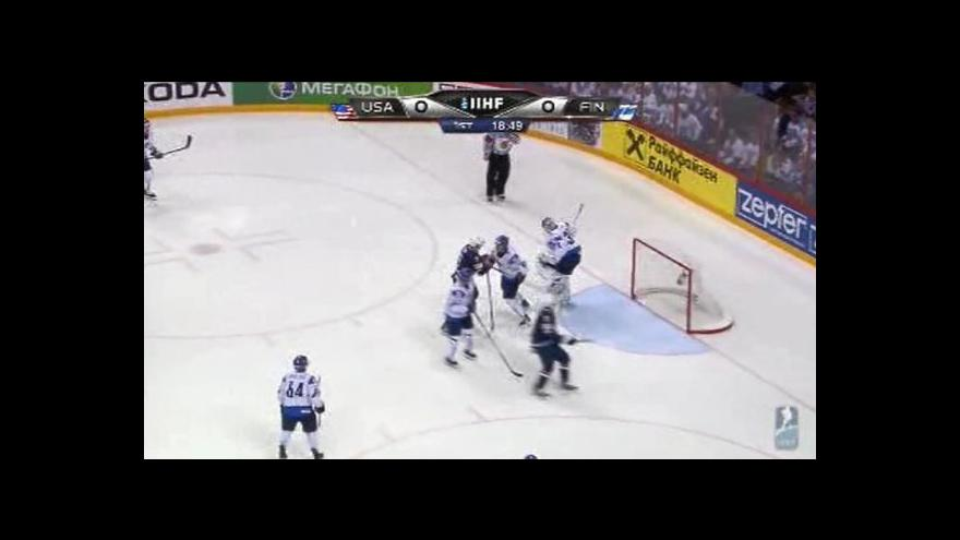 Video Sestřih utkání USA - Finsko