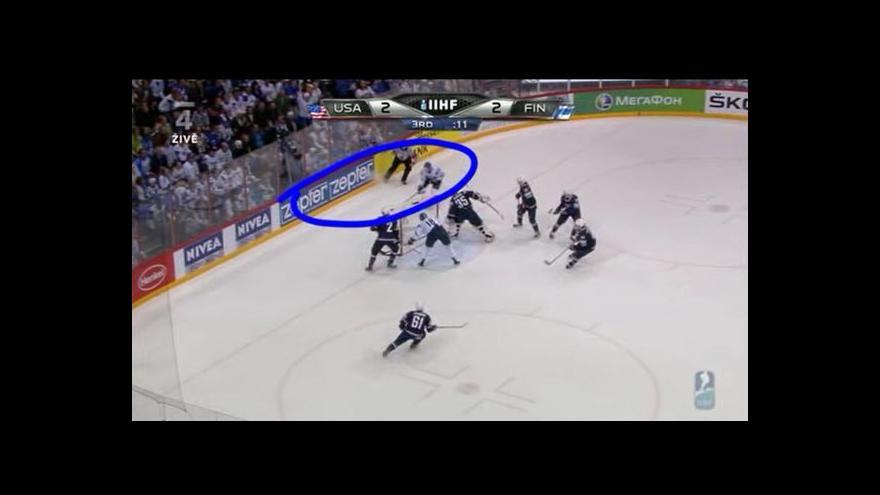Video Vyrovnávací gól Finska