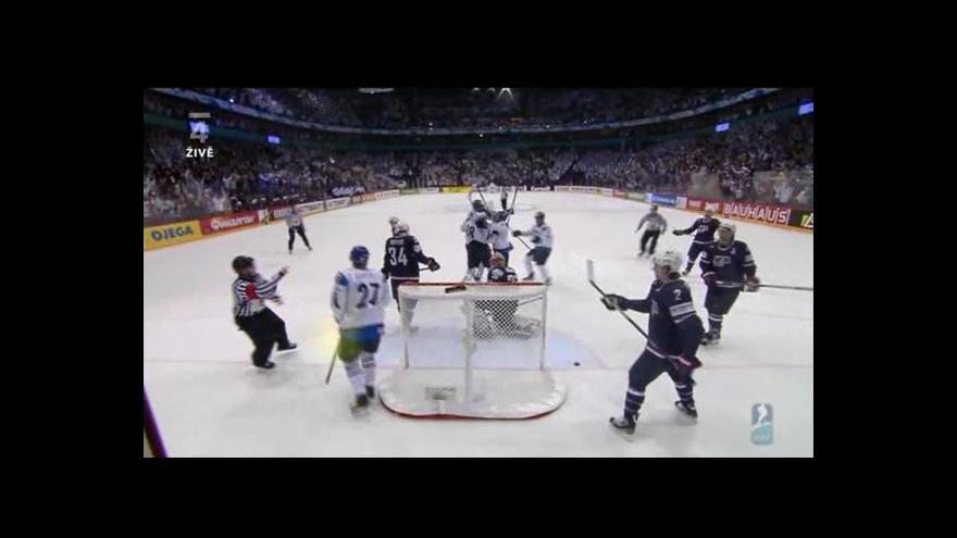 Video Vítězný gól Finska padl 9 vteřin před koncem utkání