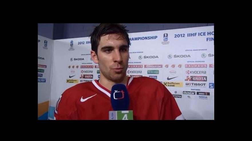 Video Reakce Johna Tavarese po zápase se Slovenskem