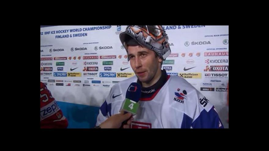 Video Reakce Jána Laca po zápase s Kanadou