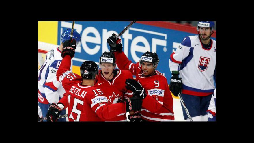 Video Sestřih utkání Kanada - Slovensko