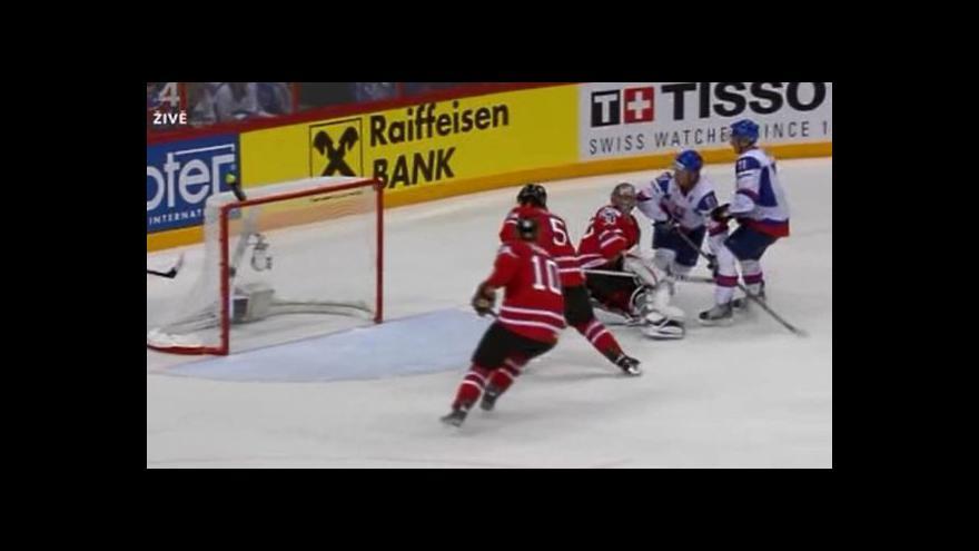 Video Bartovičův gól na 3:3