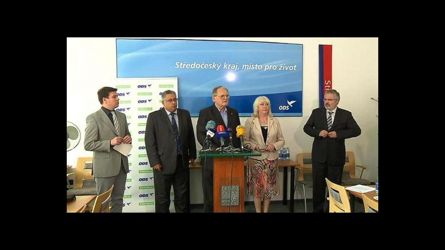 Video Brífink středočeské ODS