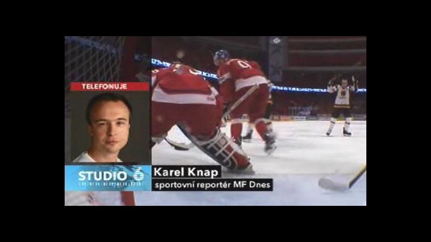 Video Rozhovor s Karlem Knapem před čtvrtfinále