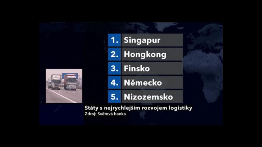 Video Světová banka podporuje rozvoj logistiky