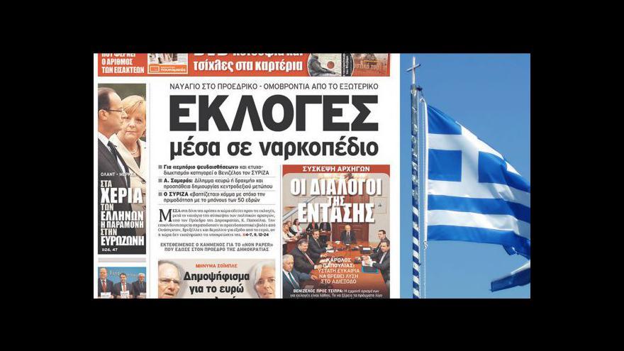 Video Řekové půjdou znovu k volbám