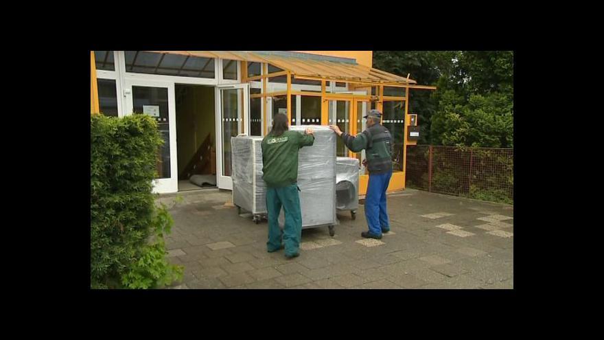 Video NO COMMENT: Přípravy na sanaci fryštácké školky