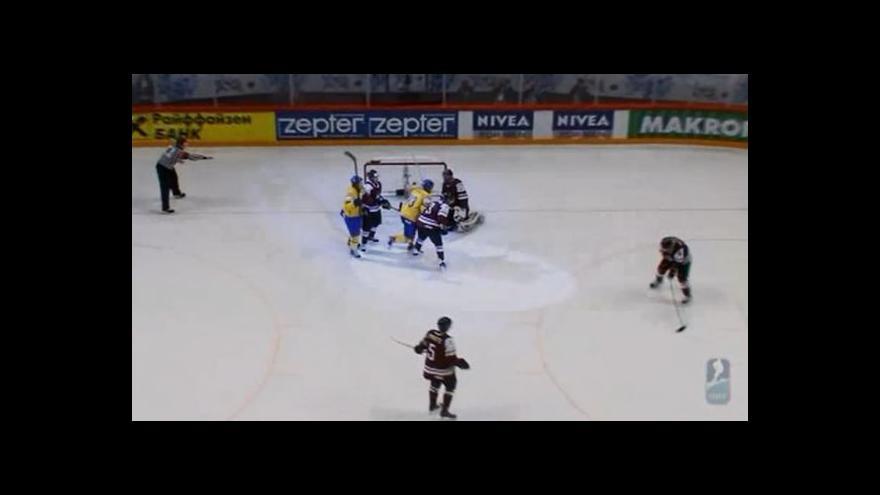 Video Sestřih utkání Švédsko - Lotyšsko