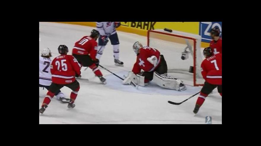 Video Sestřih utkání USA - Švýcarsko