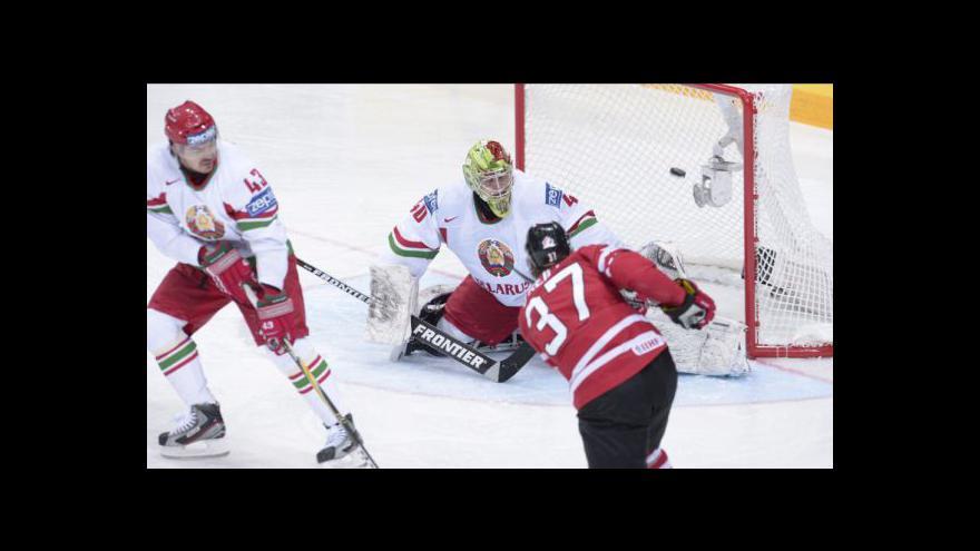 Video Utkání Kanada - Bělorusko