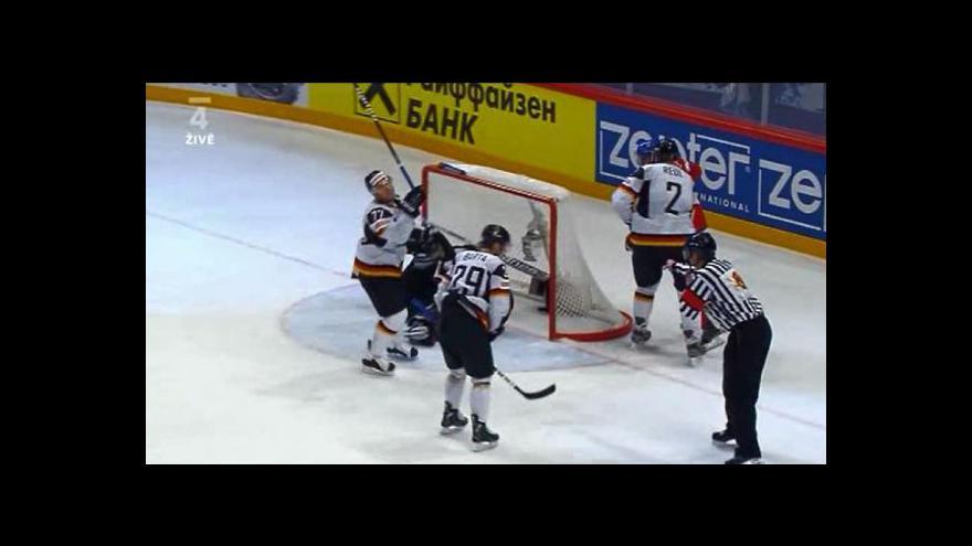 Video Sestřih utkání ČR - Německo