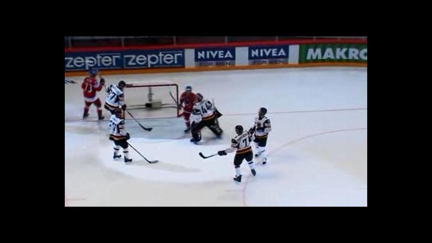 Video Hemského přihrávka a Koukalův gól na 7:1