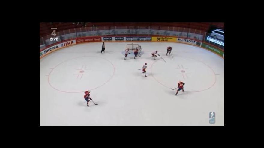 Video Norská přesilovka proti Dánsku