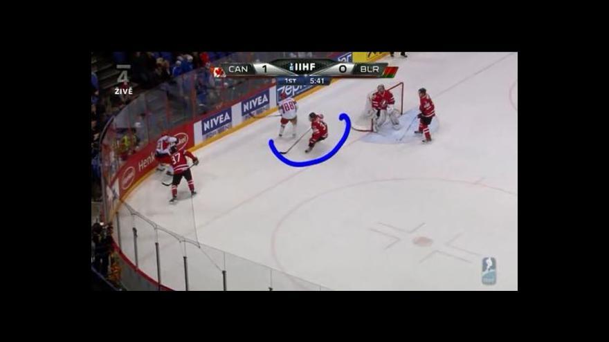 Video Vyrovnávací gól Běloruska na 1:1