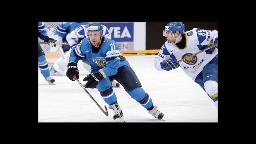 Video Utkání Finsko - Kazachstán