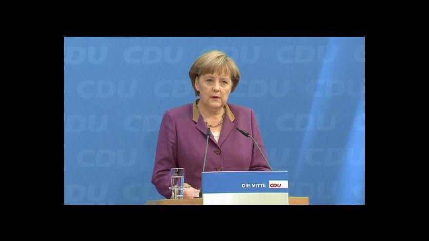 Video Hollande se dnes večer sejde s kancléřkou Merkelovou
