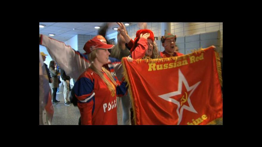 Video Ruští fanoušci jedou na zápas
