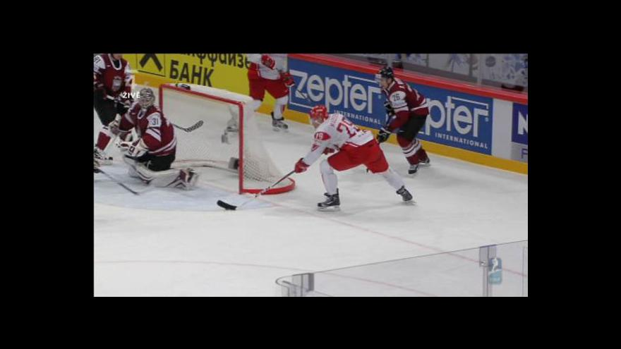 Video Druhý gól Dánska