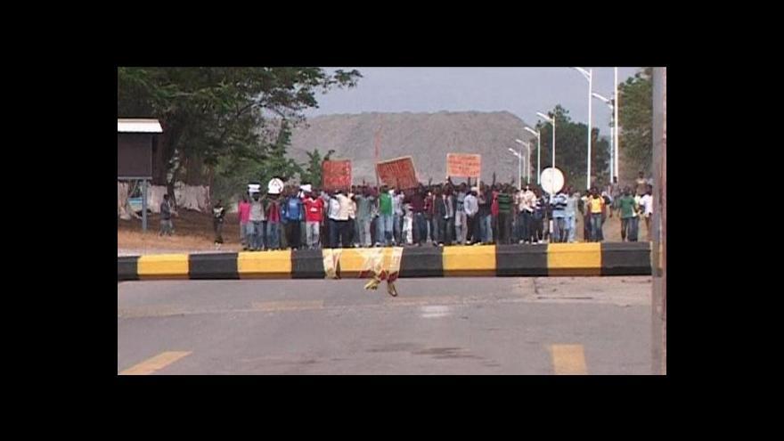 Video Ekonomika ČT24: Čínské investice v Zambii