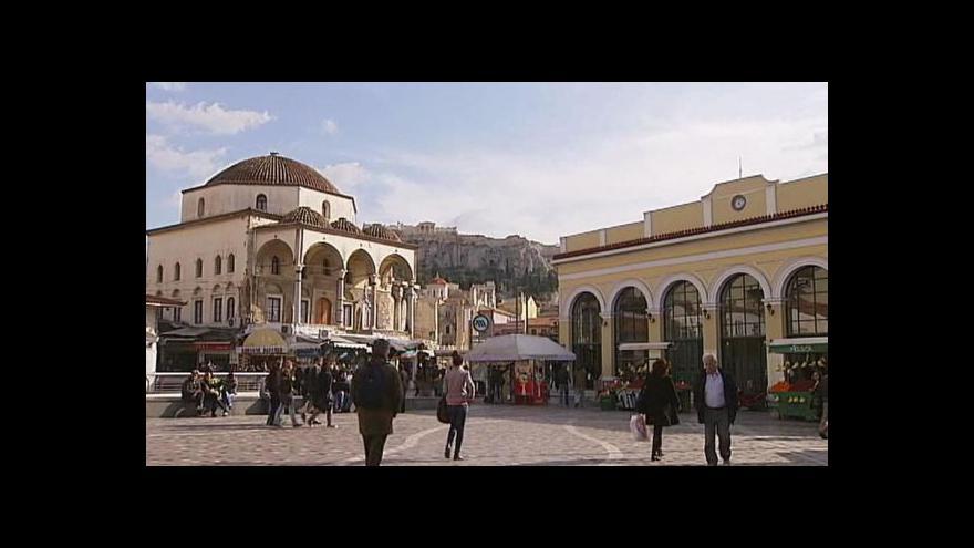 Video Řečtí podnikatelé prchají do Bulharska