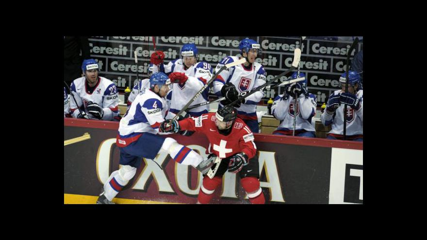 Video Sestřih utkání Slovensko - Švýcarsko