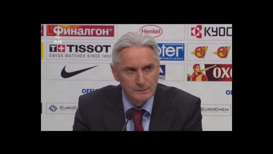 Video Biljaledtinov o ruských brankářích