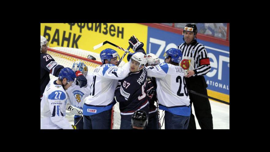 Video Sestřih utkání Finsko - USA