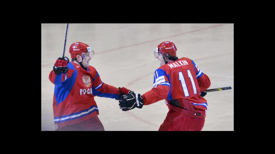 Video Sestřih utkání Rusko - Česko