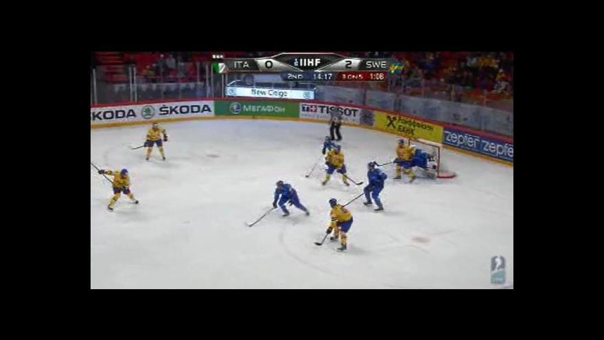 Video Sestřih utkání Itálie - Švédsko