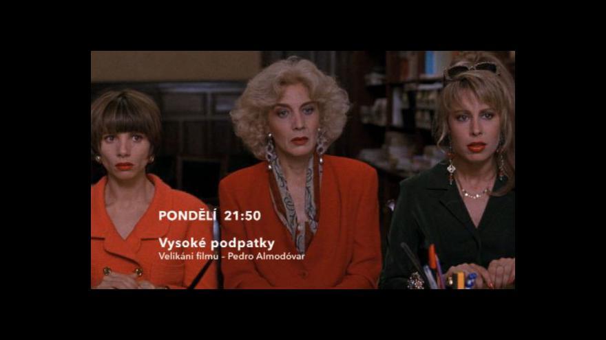 Video Ukázka z filmu Vysoké podpatky