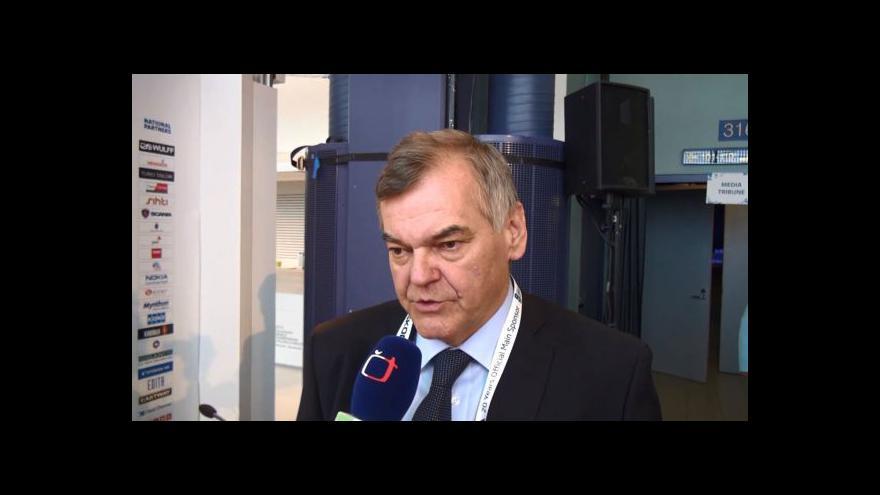 Video Reakce Vladimíra Vůjtka po zápase s Běloruskem