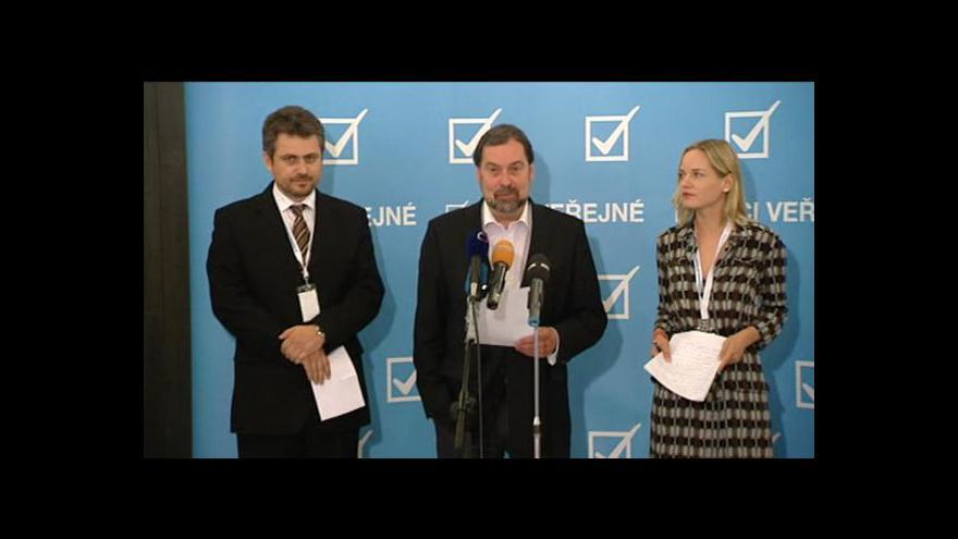 Video TK po procesní konferenci Věcí veřejných
