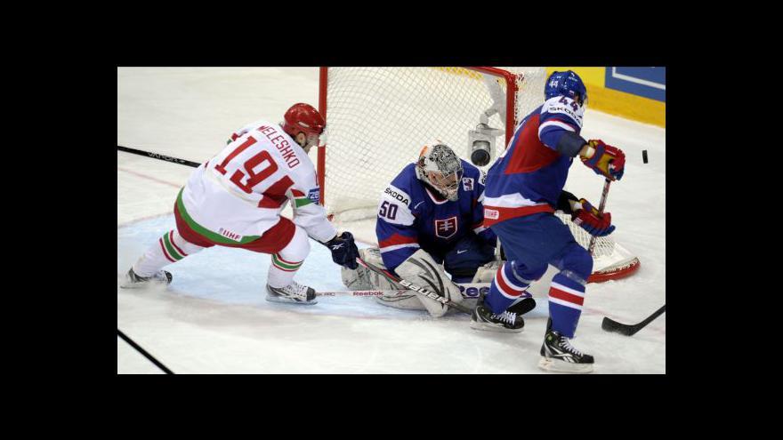 Video Sestřih utkání Slovensko - Bělorusko