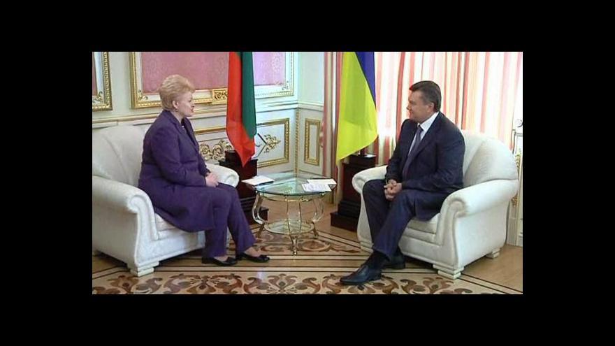 Video Tymošenkovou navštívila litevská prezidentka