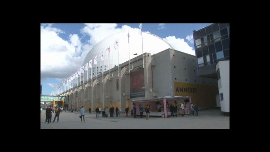 Video Atmosféra před halou Globen