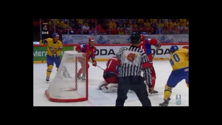Video Utkání Švédsko - Rusko