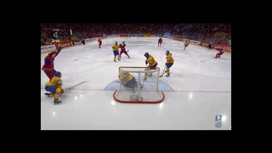 Video Sestřih utkání Švédsko - Rusko