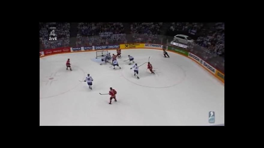 Video Sestřih utkání Finsko - Kanada