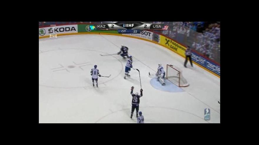 Video Sestřih utkání Kazachstán - USA