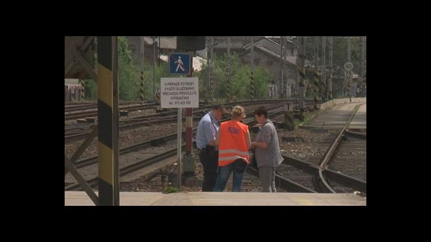 Video Anketa mezi cestujícími na blanenském nádraží