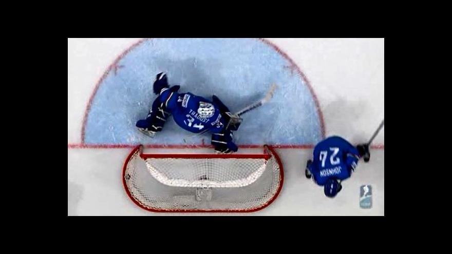 Video Úvodní gól Petra Nedvěda
