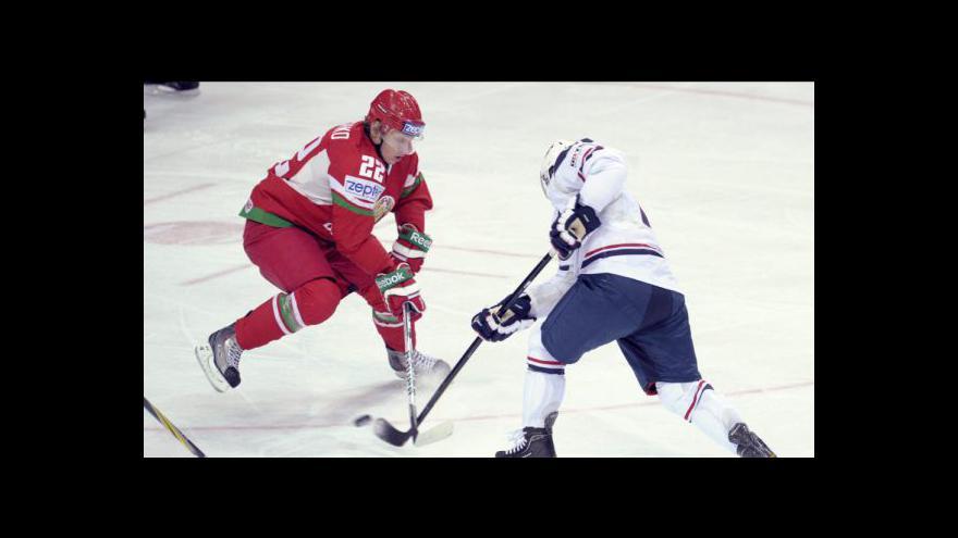 Video Sestřih utkání USA - Bělorusko