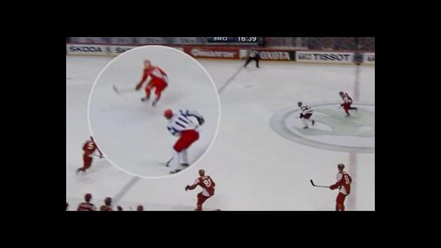 Video Malkinův postřeh a pěkná klička