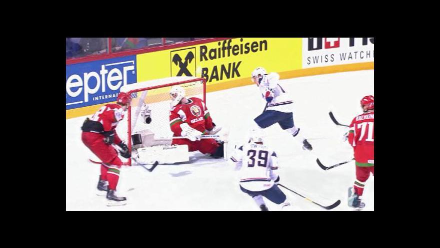 Video Utkání USA - Bělorusko