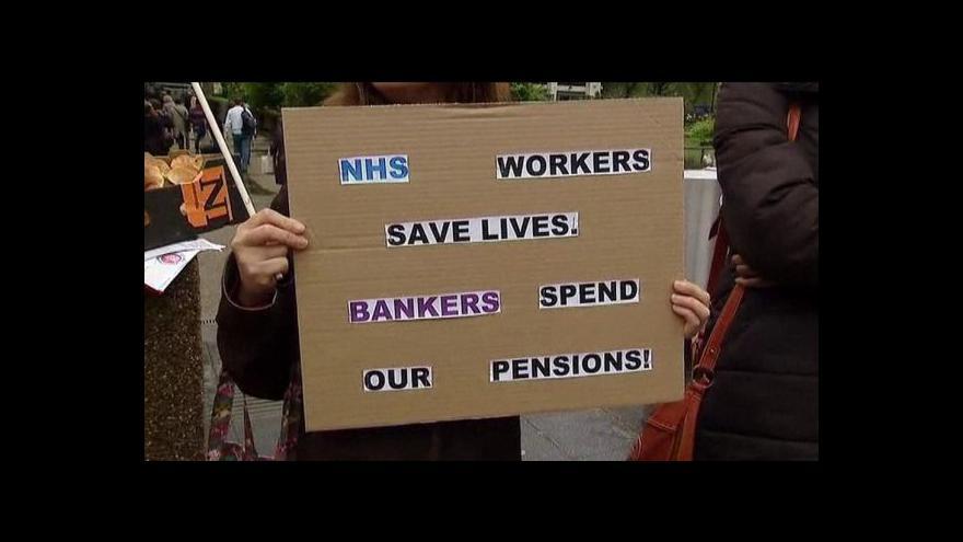 Video Telefonát Ivana Kytky o stávce v Británii