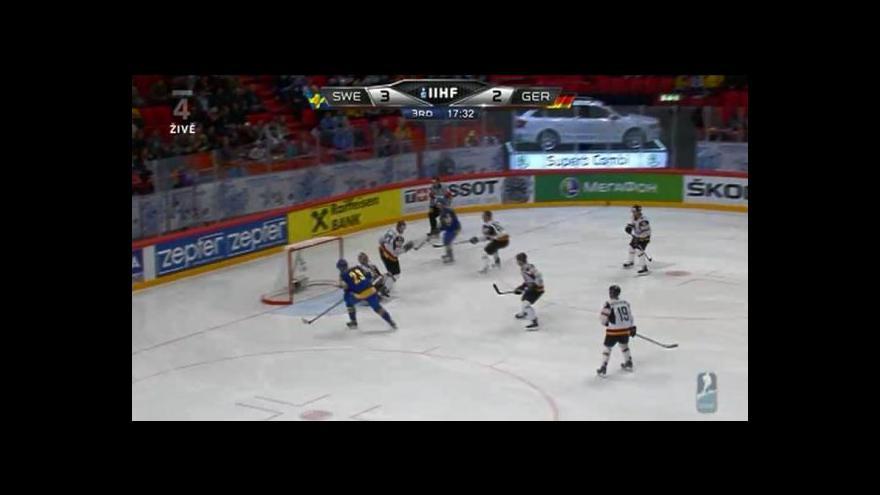 Video Sestřih utkání Švédsko - Německo