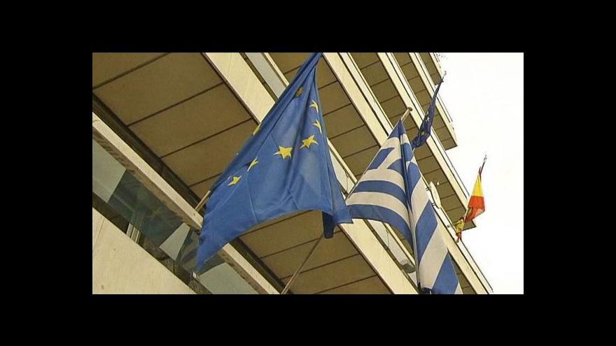 Video Studio ČT24 o situaci v Řecku