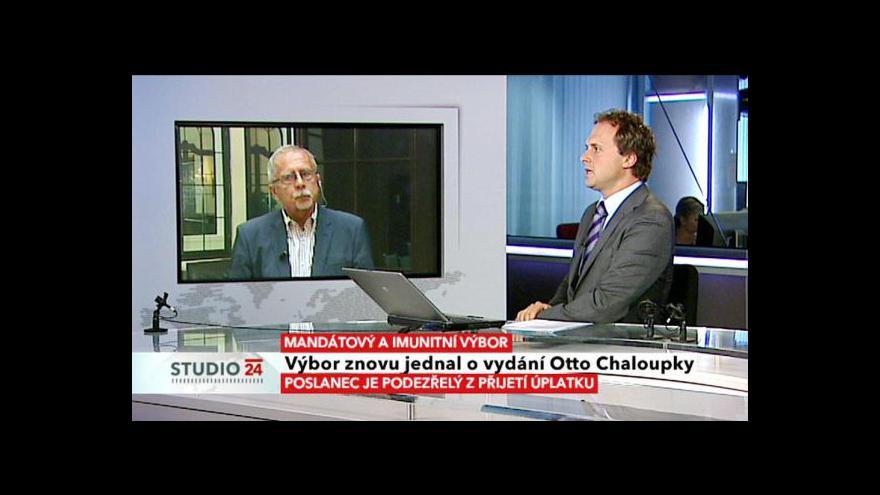 Video Rozhovor se členem mandátového výboru Stanislavem Křečkem (ČSSD)